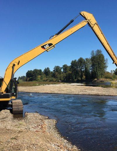 gravel-relocation-Corvallis-Taylor-Water-Treament-Plant-Covallis-Oregon