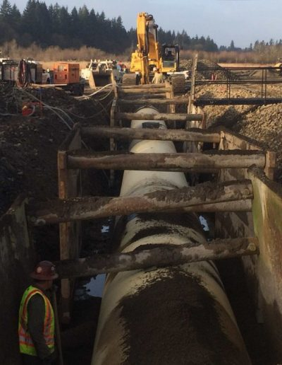 cement-pipe-ditch-construction-ODOT-Kinsman-Road-Project