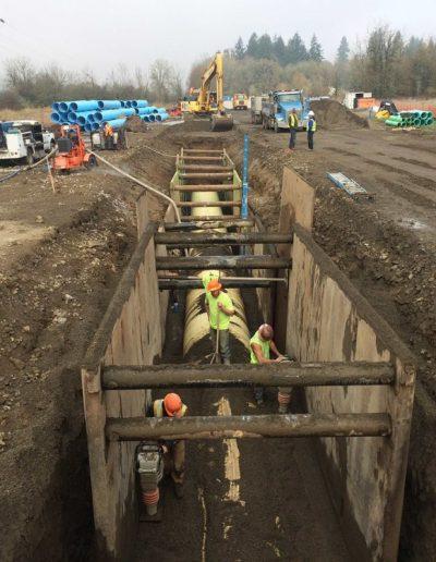 ODOT-Pipe-construction-Kinsman-Road-Oregon