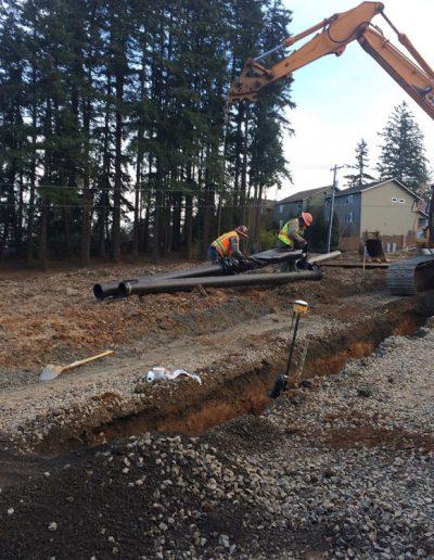 Pipe-construction-Oldham-Meadows-Subdivision-Beavertion-Oregon