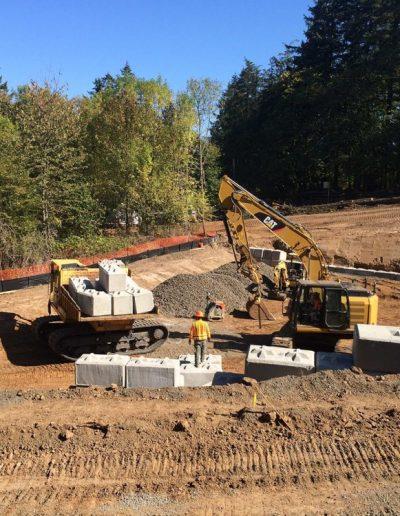 Retaining-wall-construction-Oldham-Meadows-Subdivision-Beaverton-Oregon